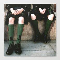 Scottish days Canvas Print