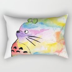 My Rainbow Totoro Rectangular Pillow