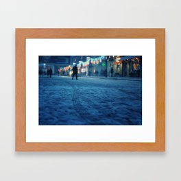 Gelid Framed Art Print