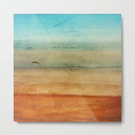 Abstract Seascape No 4: the beach Metal Print