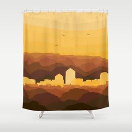Albuquerque Shower Curtain
