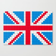 Union Jack by Qixel Canvas Print