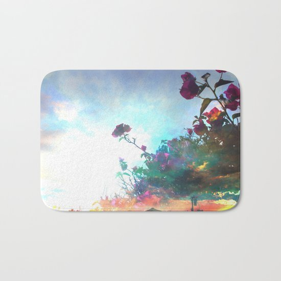 Storm of a Green Thumb Bath Mat
