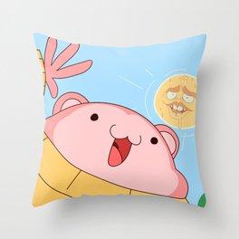My name is Peepoodo Throw Pillow
