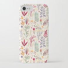 Light  Botanical Pattern iPhone 7 Slim Case