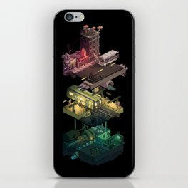 Isometric Coelary - 1 iPhone Skin