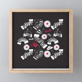 Tango Framed Mini Art Print