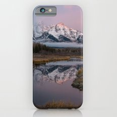 Snowy Pink Sunrise in the Tetons Slim Case iPhone 6s
