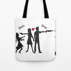 Zombie Hunting Tote Bag