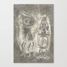 Weird Duet Canvas Print