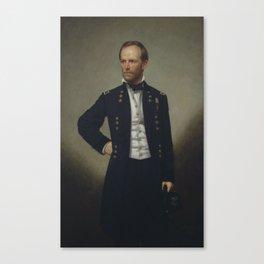 General William Tecumseh Sherman Painting Canvas Print
