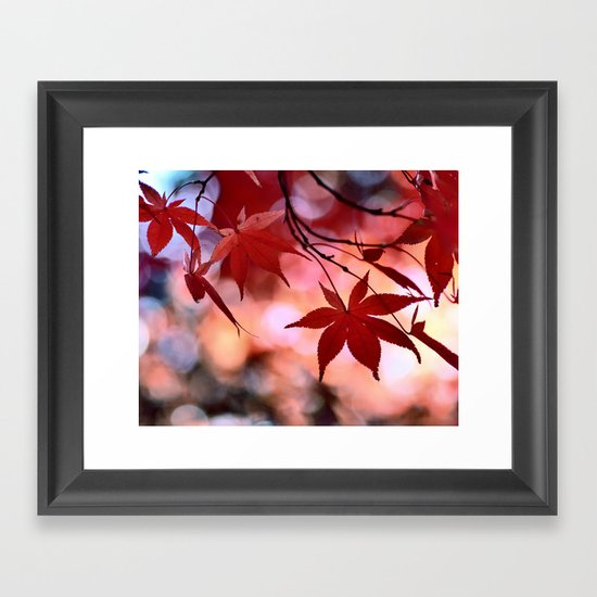Maple Dance Framed Art Print