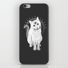 psychic Kitty 2 iPhone & iPod Skin