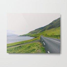 Icelandic Summer Road Trip Metal Print