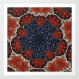 Better than Yours Colormix Mandala 14 Art Print