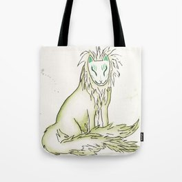 Moss Hidden Kitsune.  Tote Bag