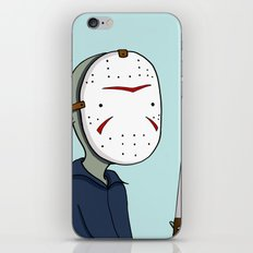 Adventure Time with Jason Voorhees iPhone & iPod Skin
