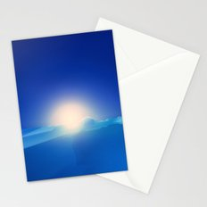 Ice Cold Blue Stationery Cards