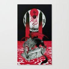The Messenger (Ainigma) Canvas Print