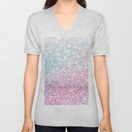 Pastel Winter Unisex V-Neck