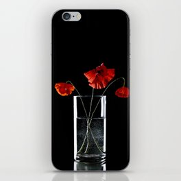 coquelicot iPhone Skin