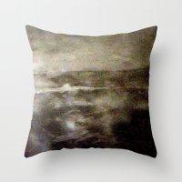 scotland Throw Pillows featuring Scotland  by Maria Julia Bastias