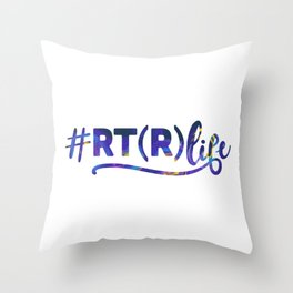 Radiology Technician,  Rad Tech Throw Pillow