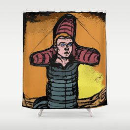 god emperor of dune Shower Curtain