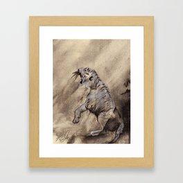 Heart of the Tiger Framed Art Print