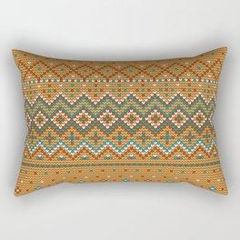 Pattern in Grandma Style #42 Rectangular Pillow