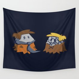 Flint and Rubble Wall Tapestry