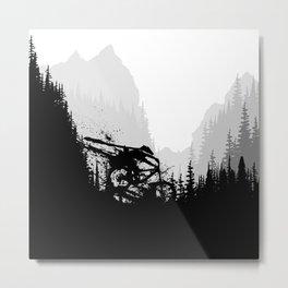 Ink Race Metal Print