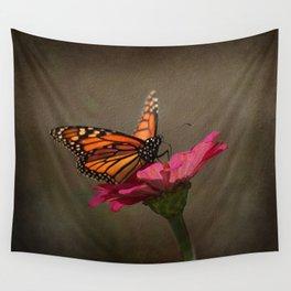 Prefect Landing - Monarch Butterfly Wall Tapestry