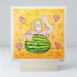 Slappin' Melons Mini Art Print