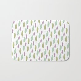 And in the beginning, there were leaves. Bath Mat