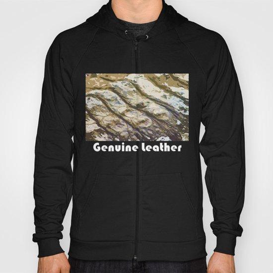 Genuine Leather Hoody