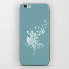 Flower Bird iPhone & iPod Skin