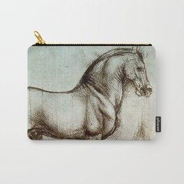 """Leonardo da Vinci """"Gran Cavallo"""" Carry-All Pouch"""