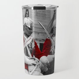 Household Cavalry Changing Of The Guard Travel Mug