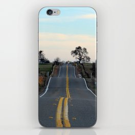 The road best traveled iPhone Skin