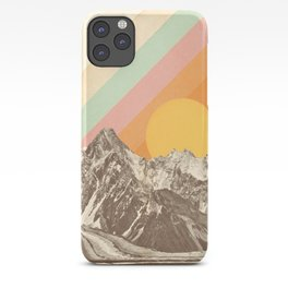 Mountainscape 1 iPhone Case