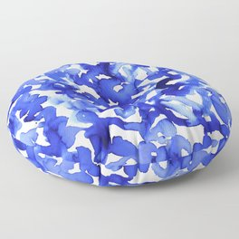 Energy Blue Floor Pillow