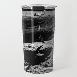 Apollo 16 - Moon Astronaut Crater Travel Mug