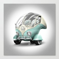 Volkswagen Bubble Canvas Print