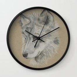 Wolf Pup Wall Clock