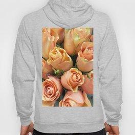 Peach Roses Hoody