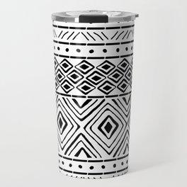 African Mud Cloth Travel Mug