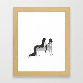 My Conjoined Centaur Sister Framed Art Print