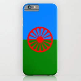 Flag of romani people iPhone Case