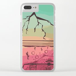 Luv N' Loathing Clear iPhone Case